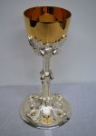 "10"" 800/1000 Silver Church Chalice (Restored)"