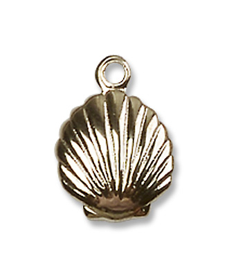 GOLD FILLED SHELL PENDANT