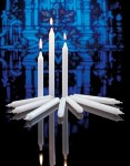 "Stearine Congregational Vigil Candles 17/32"" x 4-1/2"""