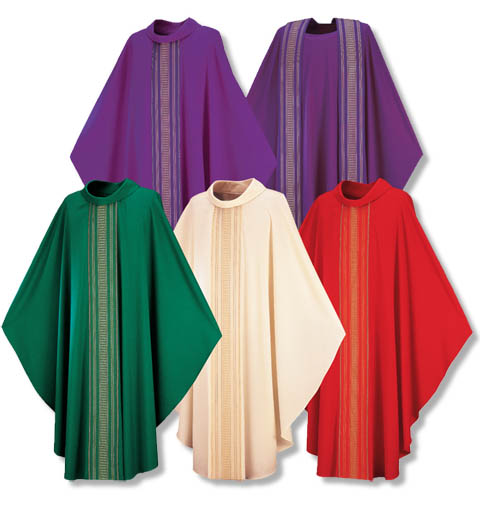 Priest vestments in every color for sale online