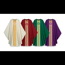 Chasuble Pius, Cross Motif
