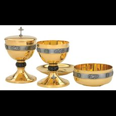 Bowl Paten with gems