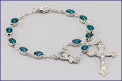 Miraculous Medal Auto Rosary
