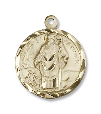 Gold filled st patrick pendant product number 5426gf24g gold filled st patrick pendant aloadofball Gallery