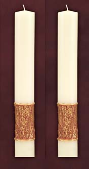 "Journey Side Altar Candles 1-1/2"" x 12"""