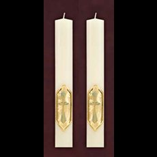 "I am the Vine Side Altar Candles 1-1/2"" x 12"""