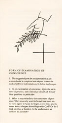 Form of Examination of Conscience