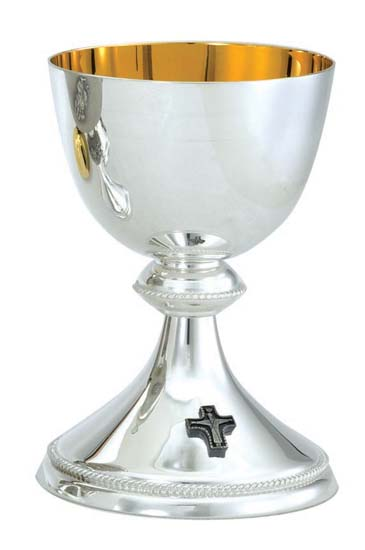 Chalice w/ bowl Silverplate