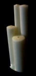 "51% Beeswax Candles 2-1/4"" x 9"" APE"