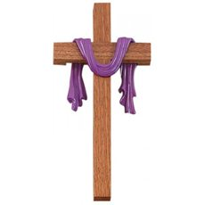 "10"" Lent/Easter Cross"