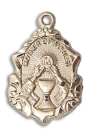 14kt Gold Mother of a Priest Medal