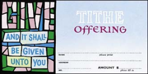 Tithe Offering Envelope