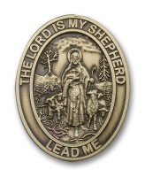 Lord Is My Shepherd / Psalm Visor Clip