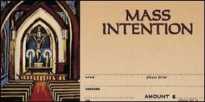 Mass Intention Envelope