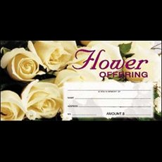 Flower Offering Envelope