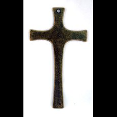 "8.5"" Brass Crucifix"