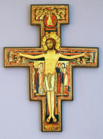 "6.5"" San Damiano Cross"