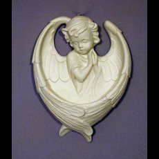"6.5"" Guardian Angel Font Wht"