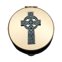 Sz 4 Pyx with Celtic Cross