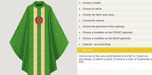 Build Your Own Vestments