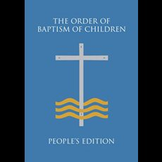 Order of Baptism for Children - People