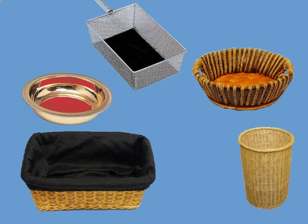 Collection Baskets and Plates