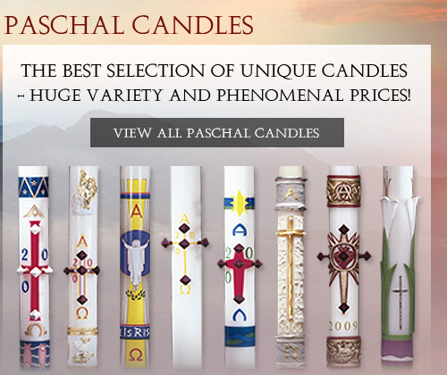 Paschal Candles The Best Selection of Unique Candles Huge Variety and Phenomenal Prices