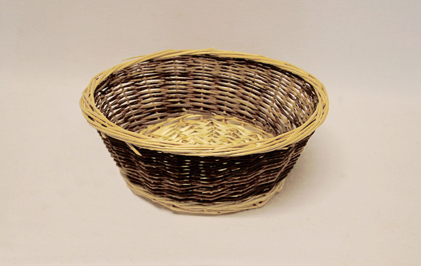 Two Tone Collection Basket 53303 Stempers Church Supplies