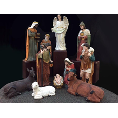"32"" Large Nativity Set for Church or Home Use"