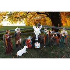 "39"" Tall Outdoor Nativity Set"