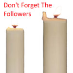 Candle Followers Button