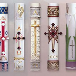 Selection of Paschal Candles Available for Sale