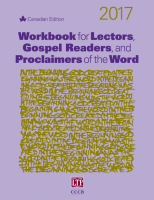 Workbook for Lectors, Gospel Readers, and Proclaimers of the Word® 2017 Canada