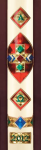 Jeweled Beeswax Paschal Candle