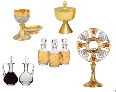 Chalices, Cruets, Monstrances for Sale