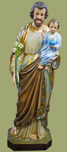 Saint Joseph Statue with Child Jesus