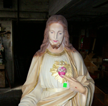See our statue restoration before