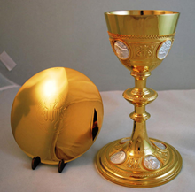 See our sacred vessel replating work like chalices & plates after restoration