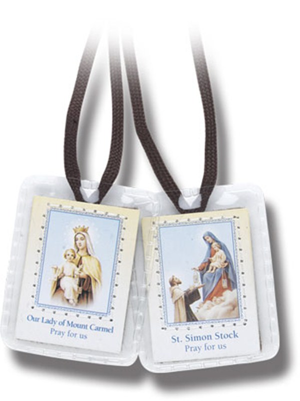Brown Scapular on Cord