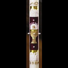 "12 Apostles Paschal Candle - 1 15/16"" x 39"""