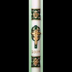 """Christus Rex Paschal Candle - 1 15/16"""" x 39"""""""