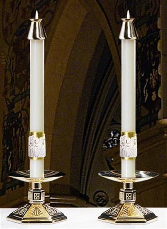 12 Apostles Altar Candles - 1.5 x 17 (Pair)