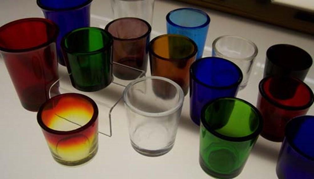 Votive Light Glasses - 24 Hour - 1 Dozen