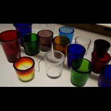 Votive Light Glasses  - 15 Hour - 1 Dozen