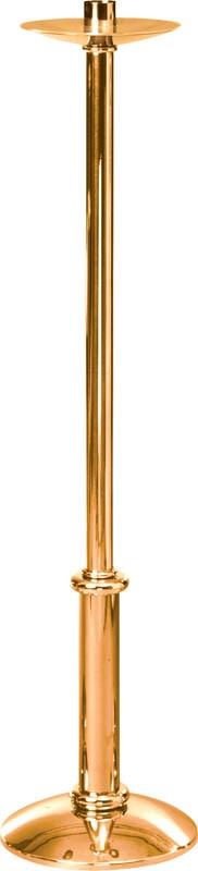 """44"""" High Polish Bronze Paschal Candlestick"""