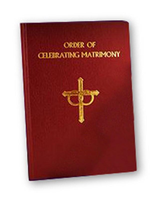 New Order of Matrimony Book