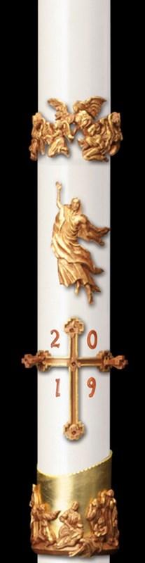 Mt Olivet Paschal Candle